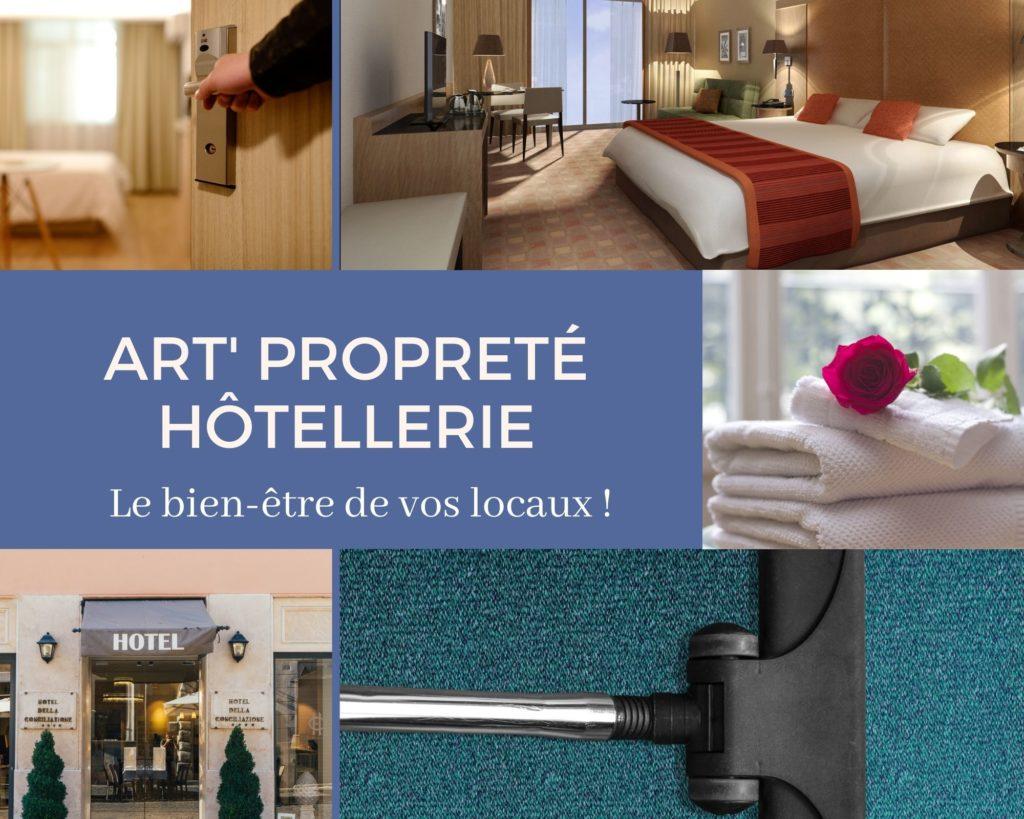 art proprete hôtellerie